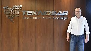 Başkan Özkan, TEKNOSAB'ta incelemelerde bulundu