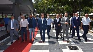 Bursa'da Cumhur İttifakı'ndan yatırım turu