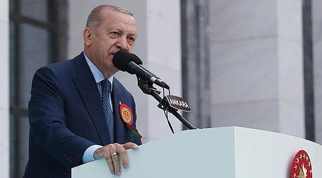 Erdoğan, Adli Yıl Açılış Töreni'nde konuştu